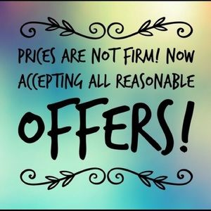 Other - 💙I Love Reasonable Offers!💙